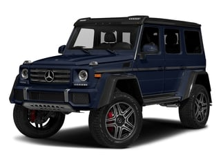 Midnight Blue 2017 Mercedes-Benz G-Class Pictures G-Class G 550 4x4 Squared SUV photos front view