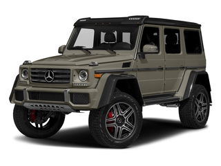 Indium Grey Metallic 2017 Mercedes-Benz G-Class Pictures G-Class G 550 4x4 Squared SUV photos front view