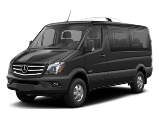 Graphite Gray Metallic 2017 Mercedes-Benz Sprinter Passenger Van Pictures Sprinter Passenger Van 2500 Standard Roof I4 144 RWD photos front view