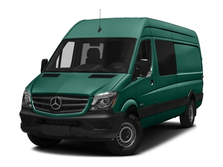 Solar Green 2017 Mercedes-Benz Sprinter Crew Van Pictures Sprinter Crew Van 2500 High Roof I4 170 RWD photos front view