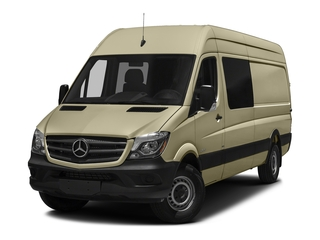 Pebble Gray 2017 Mercedes-Benz Sprinter Crew Van Pictures Sprinter Crew Van 2500 High Roof I4 170 RWD photos front view