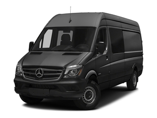 Tenorite Gray Metallic 2017 Mercedes-Benz Sprinter Crew Van Pictures Sprinter Crew Van 2500 High Roof I4 170 RWD photos front view