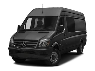 Graphite Gray Metallic 2017 Mercedes-Benz Sprinter Crew Van Pictures Sprinter Crew Van 2500 High Roof I4 170 RWD photos front view