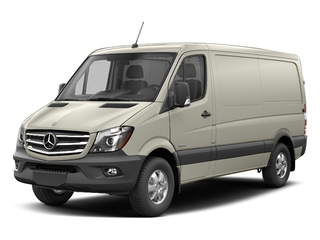 Gray White Metallic 2017 Mercedes-Benz Sprinter Cargo Van Pictures Sprinter Cargo Van 2500 Standard Roof I4 144 RWD photos front view