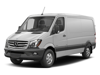 Arctic White 2017 Mercedes-Benz Sprinter Cargo Van Pictures Sprinter Cargo Van 2500 Standard Roof I4 144 RWD photos front view