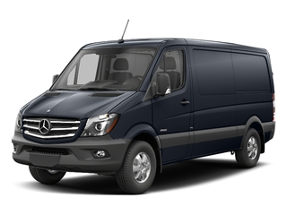 Graphite Gray 2017 Mercedes-Benz Sprinter Cargo Van Pictures Sprinter Cargo Van 2500 Standard Roof I4 144 RWD photos front view