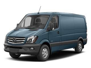 Brilliant Blue Metallic 2017 Mercedes-Benz Sprinter Cargo Van Pictures Sprinter Cargo Van 2500 Standard Roof I4 144 RWD photos front view