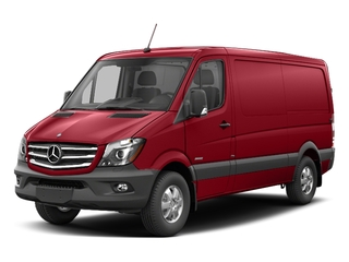 Flame Red 2017 Mercedes-Benz Sprinter Cargo Van Pictures Sprinter Cargo Van 2500 Standard Roof I4 144 RWD photos front view