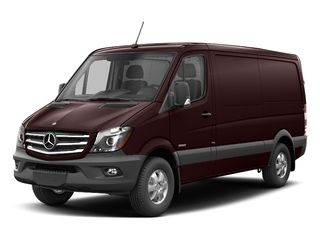 Velvet Red 2017 Mercedes-Benz Sprinter Cargo Van Pictures Sprinter Cargo Van 2500 Standard Roof I4 144 RWD photos front view