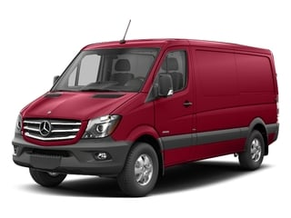 Jupiter Red 2017 Mercedes-Benz Sprinter Cargo Van Pictures Sprinter Cargo Van 2500 Standard Roof I4 144 RWD photos front view