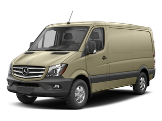 Pebble Gray 2017 Mercedes-Benz Sprinter Cargo Van Pictures Sprinter Cargo Van 2500 Standard Roof I4 144 RWD photos front view
