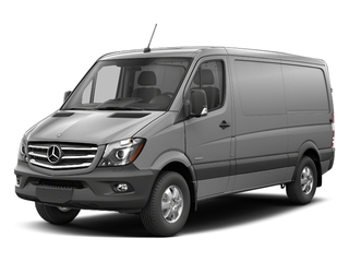 Brilliant Silver Metallic 2017 Mercedes-Benz Sprinter Cargo Van Pictures Sprinter Cargo Van 2500 Standard Roof I4 144 RWD photos front view