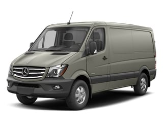 Pearl Silver Metallic 2017 Mercedes-Benz Sprinter Cargo Van Pictures Sprinter Cargo Van 2500 Standard Roof I4 144 RWD photos front view
