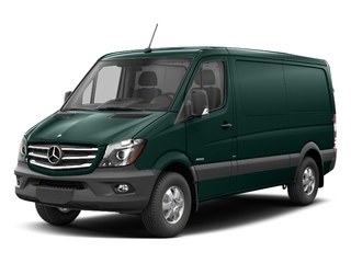 Aqua Green Metallic 2017 Mercedes-Benz Sprinter Cargo Van Pictures Sprinter Cargo Van 2500 Standard Roof I4 144 RWD photos front view