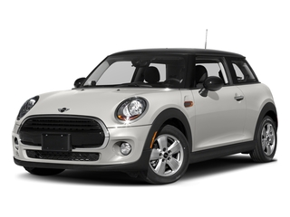 White Silver Metallic 2017 MINI Hardtop 2 Door Pictures Hardtop 2 Door Cooper FWD photos front view