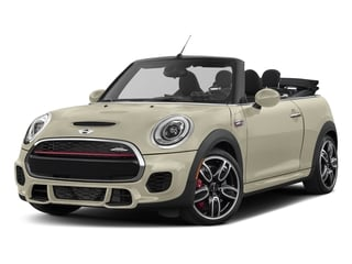 Pepper White 2017 MINI Convertible Pictures Convertible Convertible 2D JCW I4 Turbo photos front view