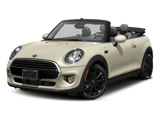 Pepper White 2017 MINI Convertible Pictures Convertible Convertible 2D I3 Turbo photos front view