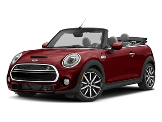 Blazing Red Metallic 2017 MINI Convertible Pictures Convertible Convertible 2D S I4 Turbo photos front view