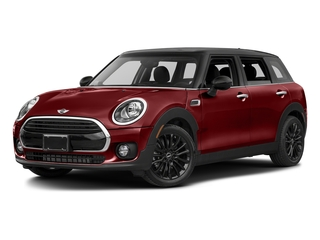 Blazing Red Metallic 2017 MINI Clubman Pictures Clubman Wagon 4D Clubman I3 Turbo photos front view