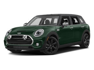 British Racing Green Metallic 2017 MINI Clubman Pictures Clubman Wagon 4D Clubman S AWD I4 Turbo photos front view