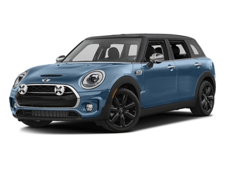 Digital Blue Metallic 2017 MINI Clubman Pictures Clubman Wagon 4D Clubman S AWD I4 Turbo photos front view