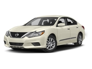 Pearl White 2017 Nissan Altima Pictures Altima Sedan 4D S I4 photos front view