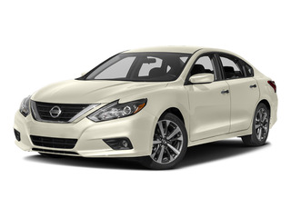 Pearl White 2017 Nissan Altima Pictures Altima Sedan 4D SR I4 photos front view