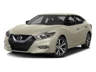 Pearl White 2017 Nissan Maxima Pictures Maxima Sedan 4D SV V6 photos front view
