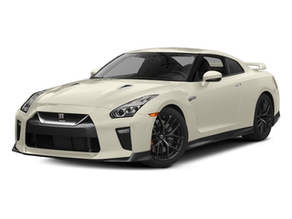 Pearl White 2017 Nissan GT-R Pictures GT-R Coupe 2D Track Edition AWD V6 Turbo photos front view