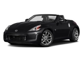Magnetic Black 2017 Nissan 370Z Pictures 370Z Roadster 2D Touring Sport V6 photos front view