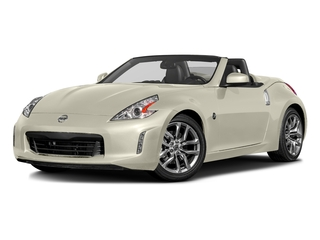 Pearl White 2017 Nissan 370Z Pictures 370Z Roadster 2D Touring Sport V6 photos front view