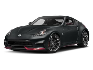 Magnetic Black 2017 Nissan 370Z Pictures 370Z Coupe 2D NISMO Tech V6 photos front view