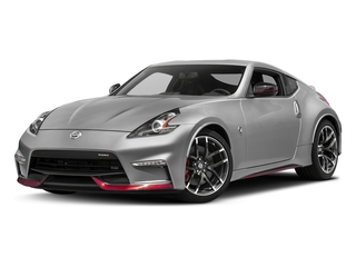 Brilliant Silver 2017 Nissan 370Z Pictures 370Z Coupe 2D NISMO Tech V6 photos front view