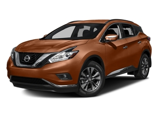 Pacific Sunset Metallic 2017 Nissan Murano Pictures Murano Utility 4D SV 2WD V6 photos front view