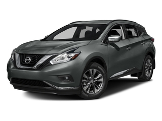 Gun Metallic 2017 Nissan Murano Pictures Murano Utility 4D SV AWD V6 photos front view