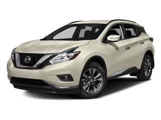 Pearl White 2017 Nissan Murano Pictures Murano Utility 4D SV AWD V6 photos front view