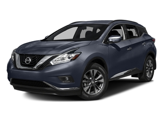 Arctic Blue Metallic 2017 Nissan Murano Pictures Murano Utility 4D SV AWD V6 photos front view