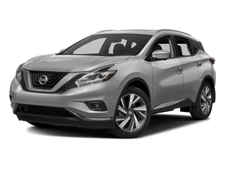 Brilliant Silver Metallic 2017 Nissan Murano Pictures Murano Utility 4D Platinum AWD V6 photos front view