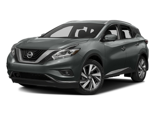 Gun Metallic 2017 Nissan Murano Pictures Murano Utility 4D Platinum AWD V6 photos front view