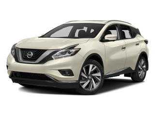 Pearl White 2017 Nissan Murano Pictures Murano Utility 4D Platinum AWD V6 photos front view