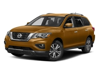 Sandstone 2017 Nissan Pathfinder Pictures Pathfinder Utility 4D SL 2WD V6 photos front view