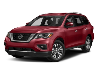 Cayenne Red Metallic 2017 Nissan Pathfinder Pictures Pathfinder Utility 4D S 2WD V6 photos front view