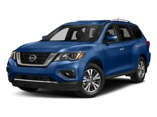 Caspian Blue 2017 Nissan Pathfinder Pictures Pathfinder Utility 4D S 2WD V6 photos front view