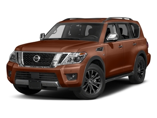Forged Copper 2017 Nissan Armada Pictures Armada Utility 4D Platinum 2WD V8 photos front view