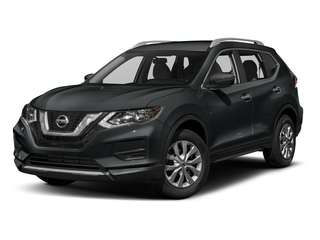 Magnetic Black 2017 Nissan Rogue Pictures Rogue Utility 4D S 2WD I4 photos front view