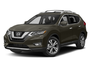 Midnight Jade 2017 Nissan Rogue Pictures Rogue Utility 4D SL AWD I4 photos front view