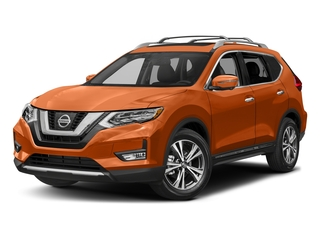 Monarch Orange 2017 Nissan Rogue Pictures Rogue Utility 4D SL AWD I4 photos front view