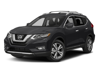 Magnetic Black 2017 Nissan Rogue Pictures Rogue Utility 4D SL AWD I4 photos front view