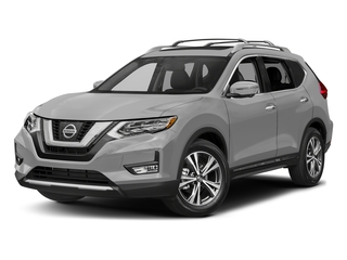Brilliant Silver 2017 Nissan Rogue Pictures Rogue Utility 4D SL AWD I4 photos front view