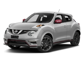 Brilliant Silver 2017 Nissan JUKE Pictures JUKE Utility 4D NISMO AWD I4 Turbo photos front view